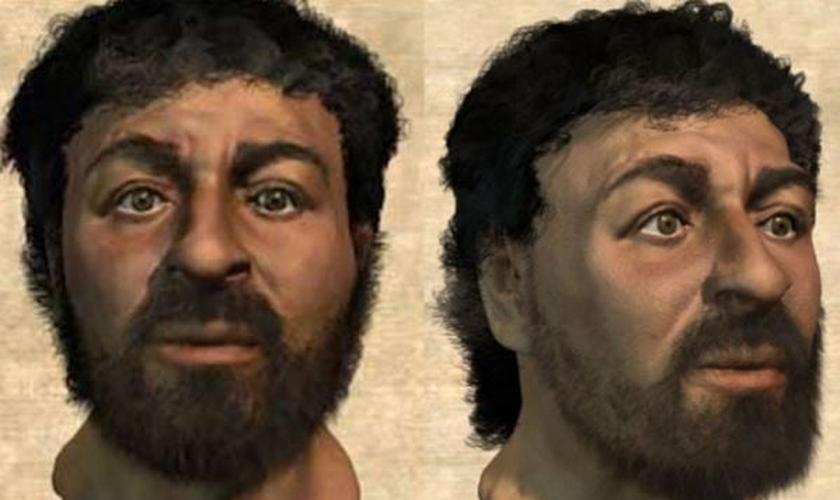Os pesquisadores descartaram a crença comum de que Cristo tinha cabelos longos e lisos. (Foto: Unilad)