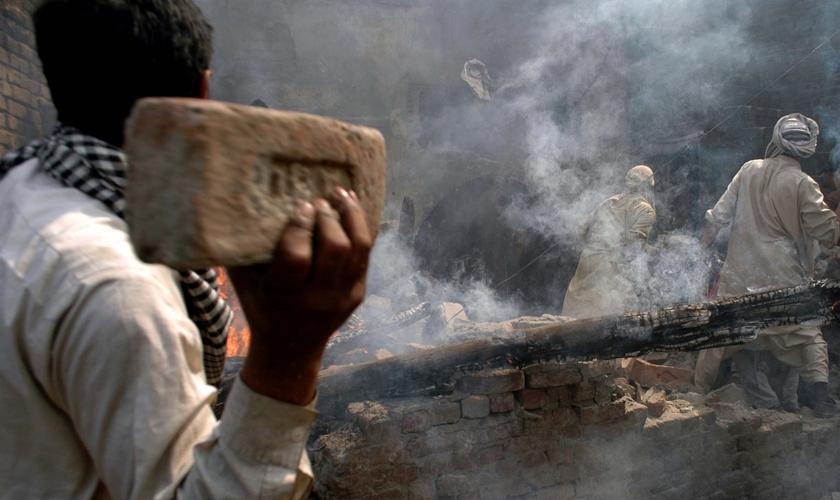 A perseguição contra os cristãos no Paquistão vem piorando, afirmam missionários. (Foto: Reprodução/Morning Star News)