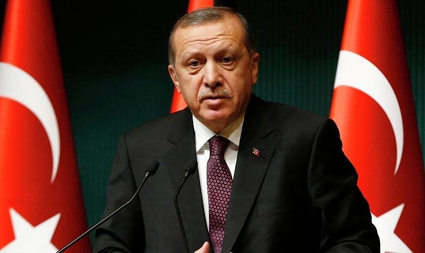 Recep Tayyip Erdoğan, presidente da Turquia. (Foto: Reuters/ Umit Bektas)