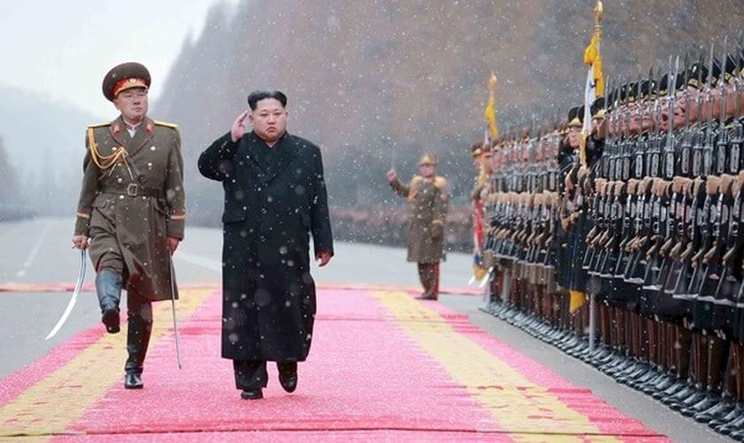 Kim Jong-un, atual líder supremo editador da Coreia do Norte. (Foto: Reuters)