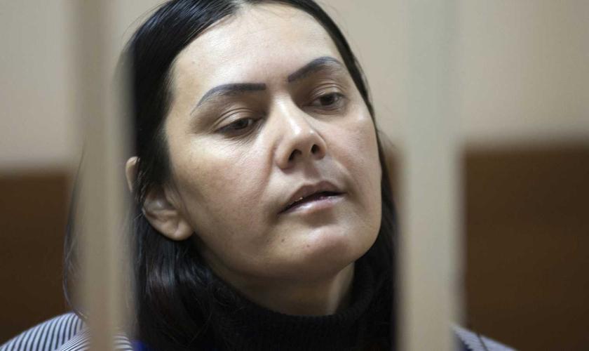 """Bobokulova confessou ter cometido o crime que chocou o mundo nos últimos dias e afirmou que """"seguiu ordens de Alá"""". (Foto: MICHAEL QAZVINI / Daily Wire)"""