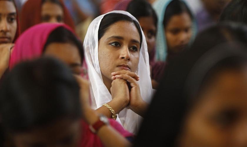 Uma igreja pentecostal do estado de Chhattisgarh, na Índia, foi atacada por radicais hindus. (Foto: Reuters)