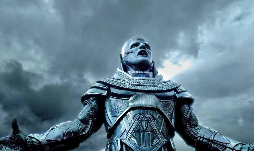 Personagem que dá títtulo ao novo filme dos 'X-Men', Apocalipse tem sua imagem associada a Jesus nesta nova produção. (Imagem: Reprodução / Youtube