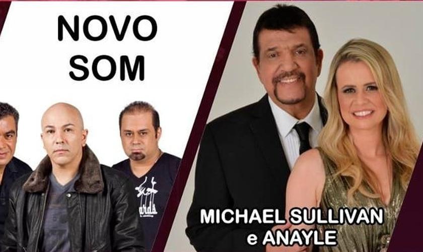 Novo Som e Michael & Anayle Sullivan confirmam presença na Expoevangélica 2016 (Foto: Divulgação)