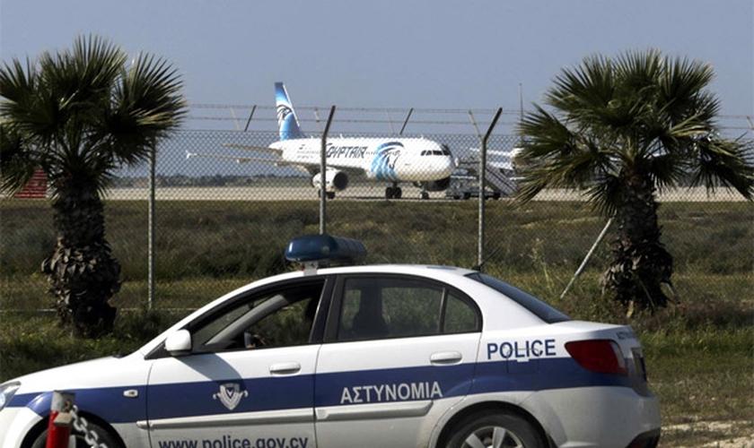 """O presidente do Chipre disse que o evento """"não era algo que tenha a ver com terrorismo"""". (Foto: AFP)."""