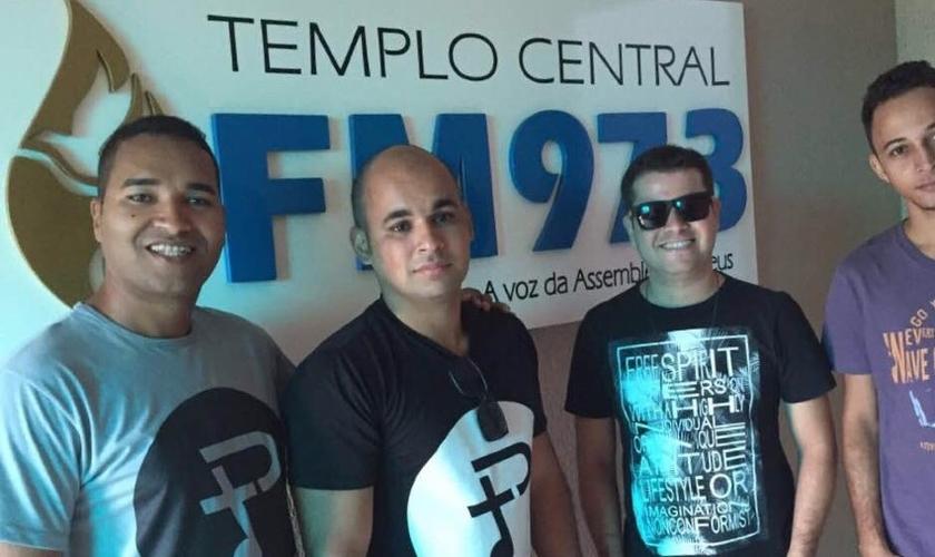 """""""Todos momentos em Fortaleza foram muito edificantes"""", disse o vocalista da banda. (Foto: Divulgação)."""