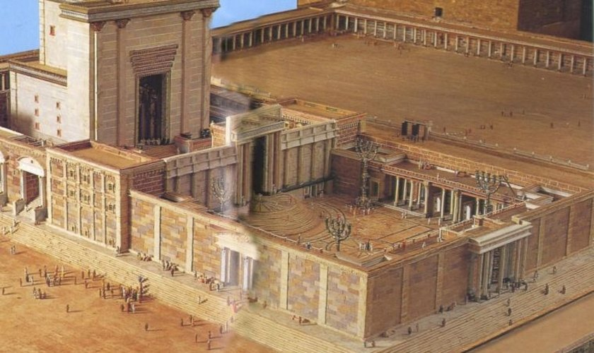 O plano é construir o Templo de Herodes, a Fortaleza Antonia e Palácio de Herodes, com o local da crucificação de Jesus, o palácio do Sumo Sacerdote e outros edifícios menores. (Imagem: Templo de Herodes)