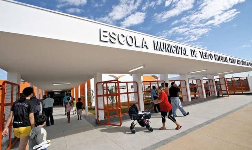 Escola Professora Ana Lucia de Oliveira Batista. (Foto: Divulgação)