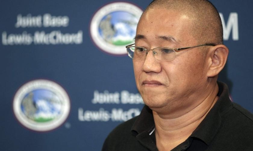 Bae vivia na China como um missionário cristão cerca de sete anos antes de sua prisão em 2009. (Foto: AP Photo).