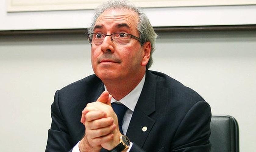 Eduardo Cunha assumiu a presidência da Câmara no início de fevereiro de 2015 e teve seu afastamento provisoriamente ordenado pelo relator da Operação Lava Jato. (Foto: Agência Câmara)
