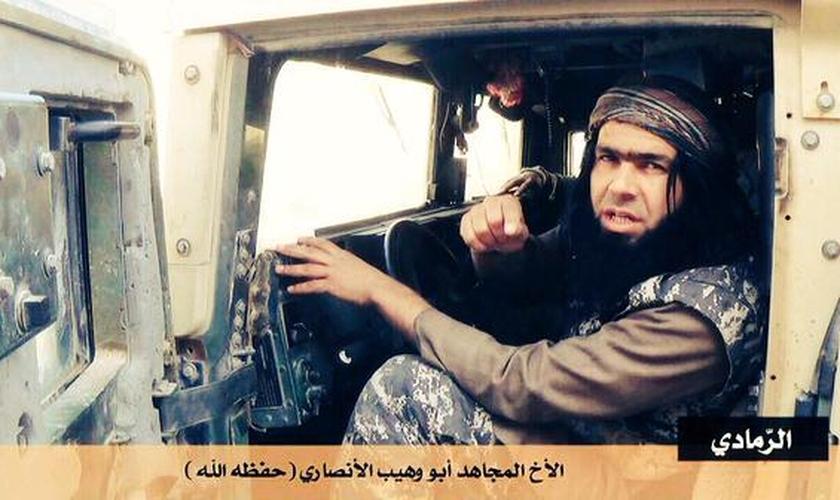 Abu Waheeb já integrou a Al-Qaeda e havia se filiado ao Estado Islâmico. (Foto: Live - AV)
