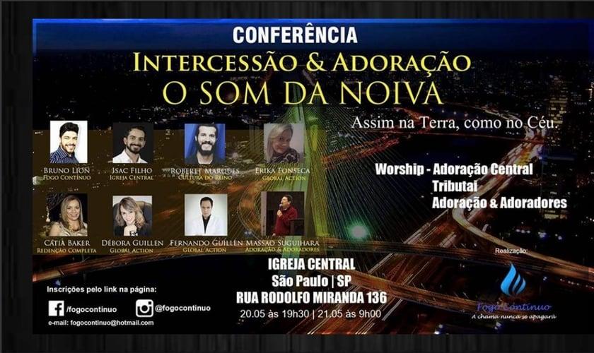 """A Conferência """"O Som da Noiva"""" se realizará nos dias 20 e 21 de maio, em São Paulo, com renomados preletores. (Imagem: Divulgação)"""