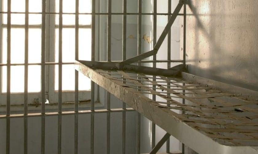 Parte interna de uma cela prisional. (Foto: World Bulletin)