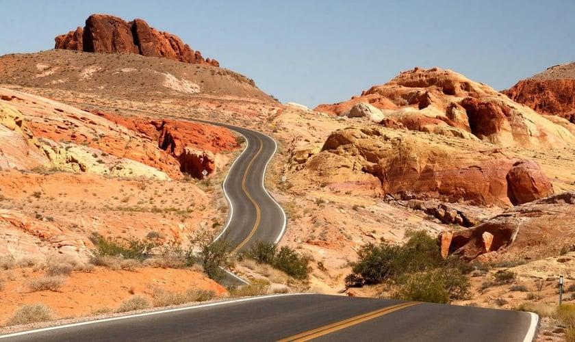 O estado de Nevada é localizado na região das Montanhas Rochosas dos Estados Unidos. (Foto: Reprodução)
