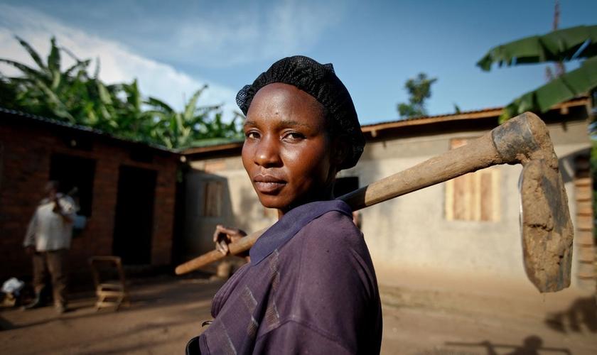 Segundo vizinhos e parentes, Mariam Nakirya foi morta pelo marido por ter se convertido ao cristianismo, aos 30 anos. (Foto: Echwalu Photography)