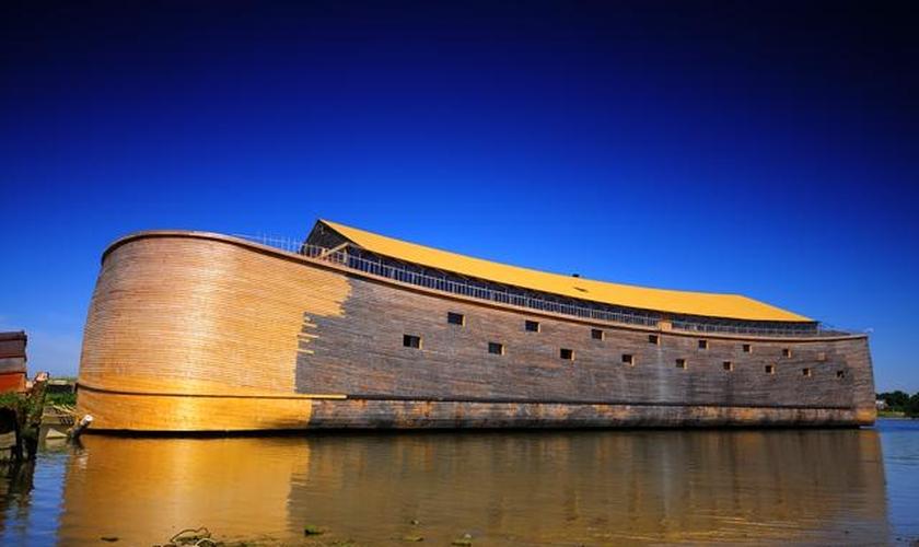 A arca está se preparando para fazer a viagem ao Brasil para os Jogos Olímpicos deste verão. (Foto: Divulgação).