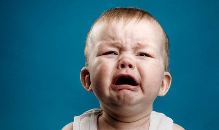 Bebê chorando. (Foto: MediaPost)