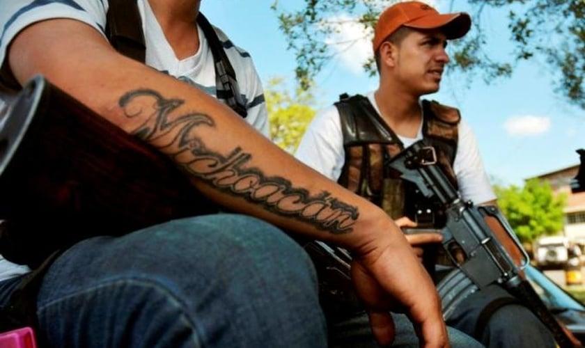 Traficantes de drogas no México. (Foto: SouthWorld)