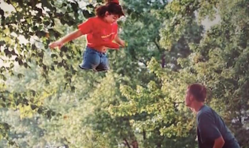 Os pais de Jen deram a ela a coragem de seguir seu sonho. (Foto: Reprodução).