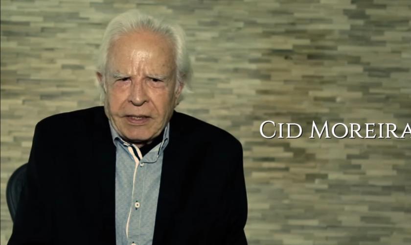 Cid Moreira. (Imagem: Youtube)