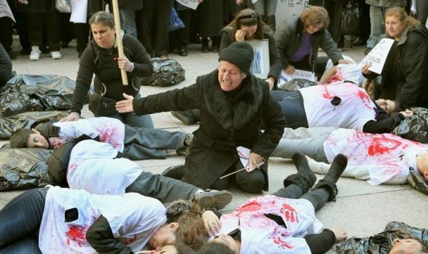 Mauro comenta que a fé dos cristãos na Síria está aumentando. (Foto: