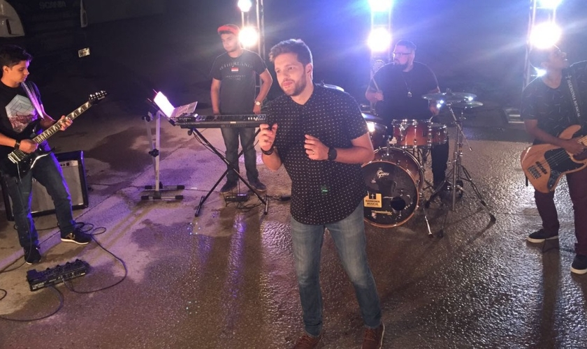 As gravações foram realizadas na Real Mix, em Goiânia (GO). (Foto: Divulgação).