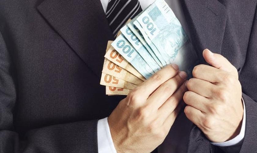 Corrupção. (Foto: Getty Images)