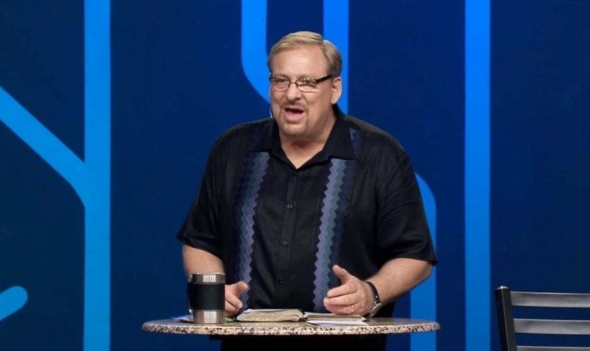 """Pastor Rick Warren é autor do livro """"Uma Vida com Propósitos"""" e líder da Igreja Saddleback, nos EUA. (Foto: Getty)"""