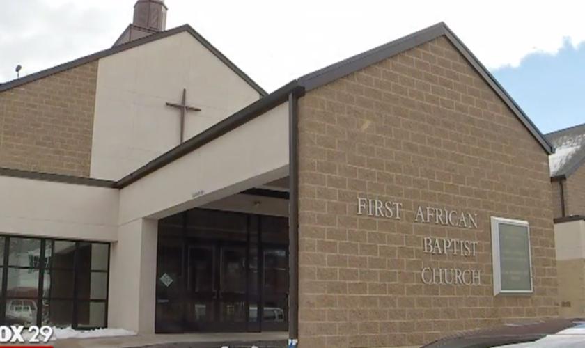 Primeira Igreja Batista Africana - Delaware. (Foto: Fox 29)
