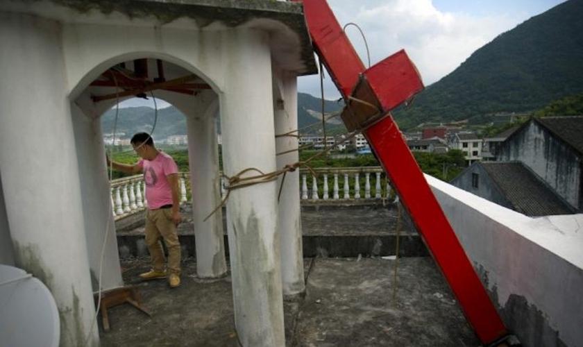 Acredita-se que existem mais de 100 milhões de cristãos na China. (Foto: Reuters).