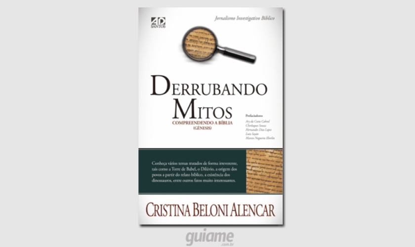 """Capa do livro """"Derrubando Mitos"""". (Imagem: Guiame)"""