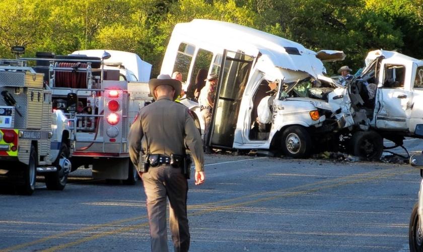 Treze pessoas foram mortas e outras duas ficaram feridas. (Foto: Zeke MacCormack/The San Antonio Express-News/AP)
