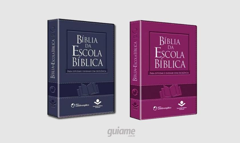Bíblia da Escola Bíblica. (Imagem: Guiame)