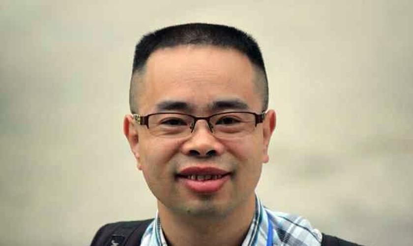 O pastor Yang Hua, de 41 anos, foi preso no dia 9 de dezembro de 2015 e julgado no dia 26 de dezembro de 2016. (Foto: Reprodução).