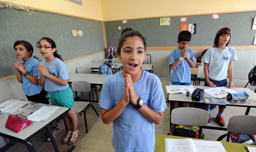 Imagem ilustrativa. A aluna compartilhou sua fé cristã com seus colegas judeus, em Israel. (Foto: Reprodução)