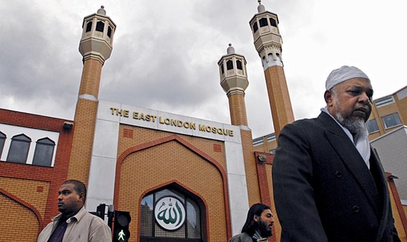 Mesquita na região leste de Londres, localizada no distrito de Whitechapel. (Foto: Mary Knox Merrill/STAFF)