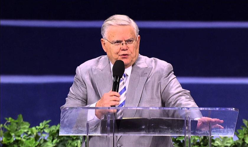 Pastor John Hagee. (Imagem: Youtube)