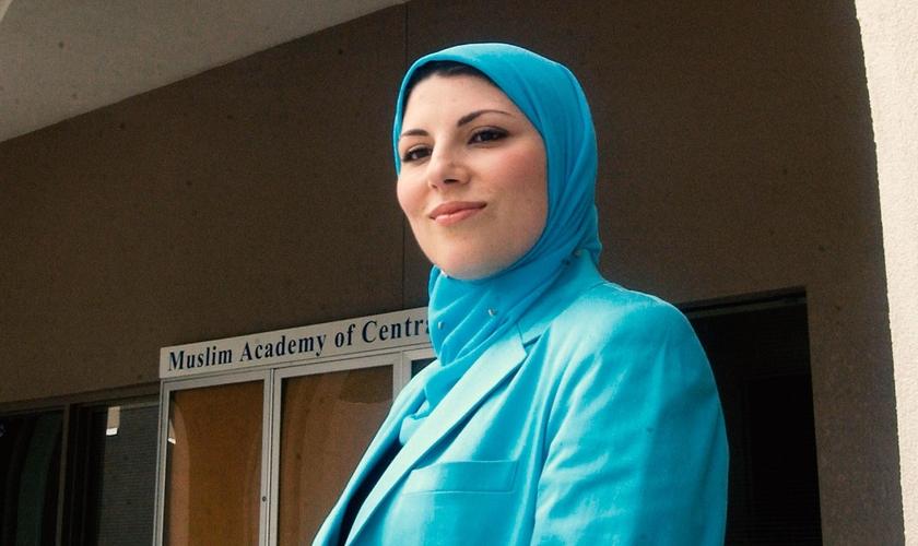 Professora Areeje Zufari. (Foto: CBN.com)