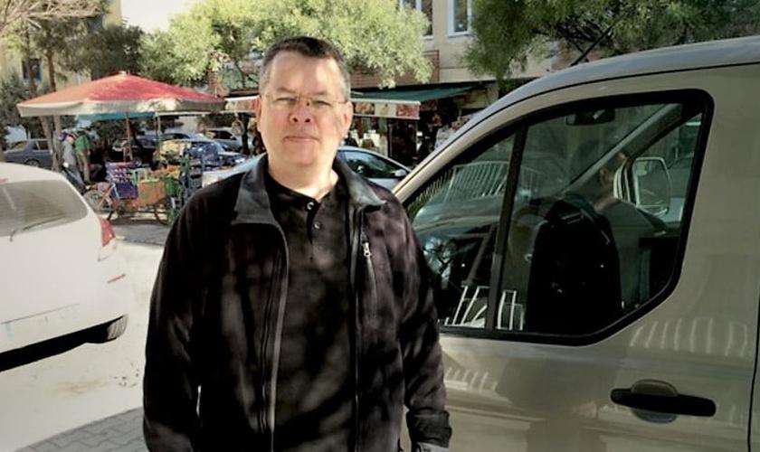 Pastor Andrew Brunson está preso na Turquia, sob falsas acusações de envolvimento com o terrorismo. (Foto: American Center for Law and Justice)