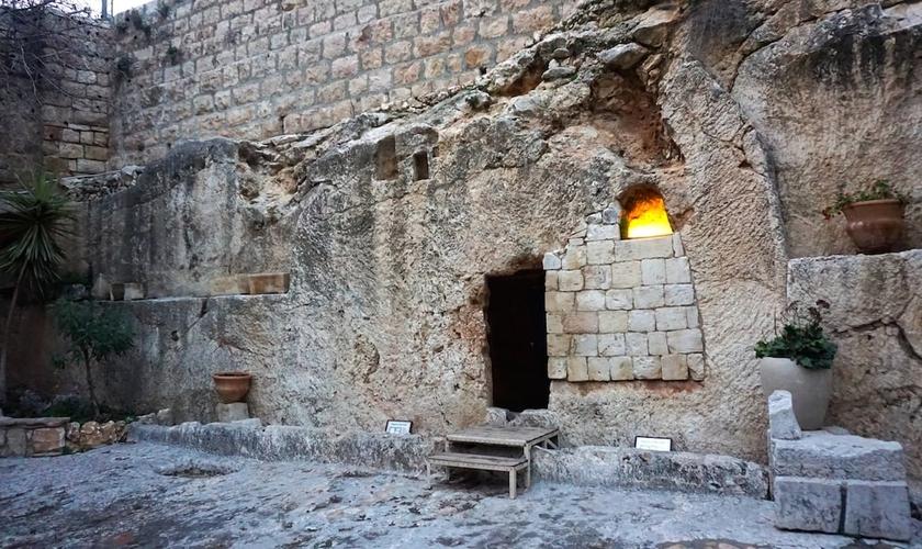 O 'Jardim da Tumba' é considerado pelos evangélicos, o real local do sepultamento e ressurreição de Jesus. (Foto: Foreign Loren)