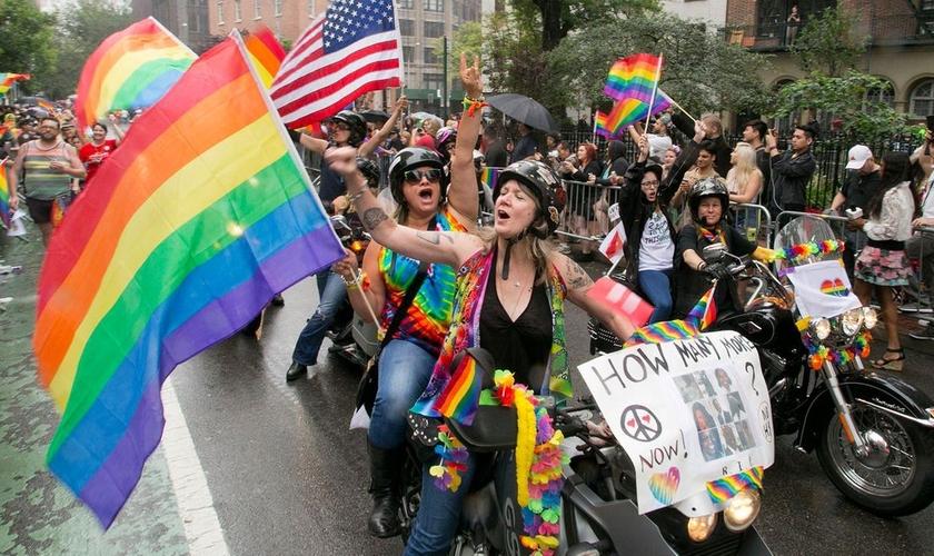Parada gay. (Foto: abc7NY)