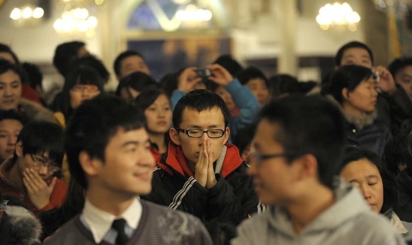 A China tem conduzido uma repressão generalizada sobre o cristianismo. (Foto: Reprodução)