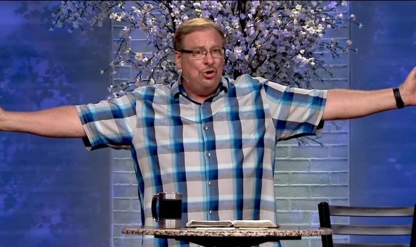 """Pastor Rick Warren é autor do livro """"Uma Vida com Propósitos"""" e líder da Igreja Saddleback, nos EUA. (Foto: Saddleback)"""