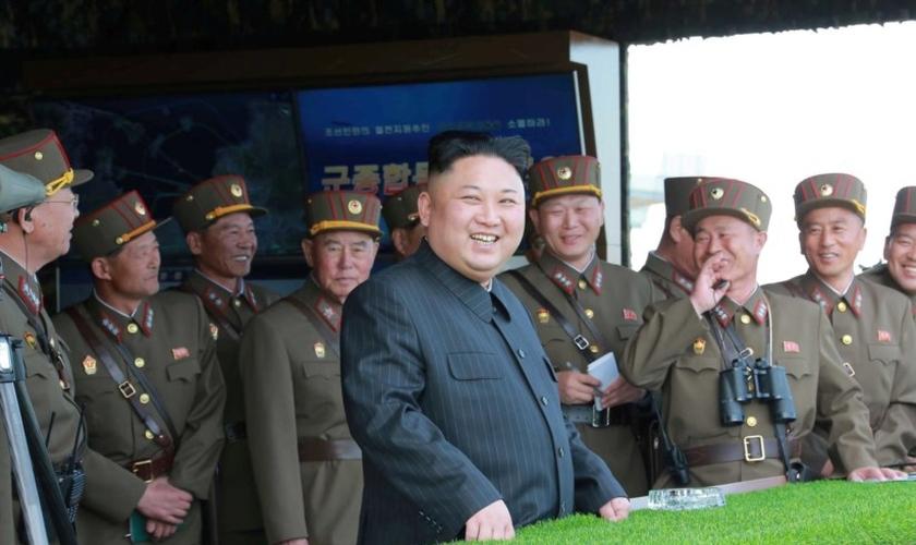 A Coreia do Norte está em uma série de detenções de cristãos e Kim Hak-song é o quarto. (Foto: AFP).