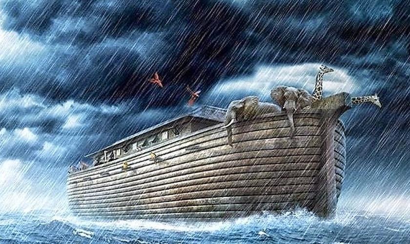 Arca de Noé. (Imagem: Tantettaus)