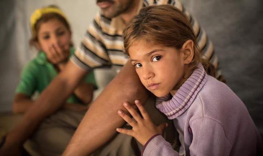 A petição pretende apoiar os cristãos na Síria e no Iraque. (Foto: Portas Abertas)