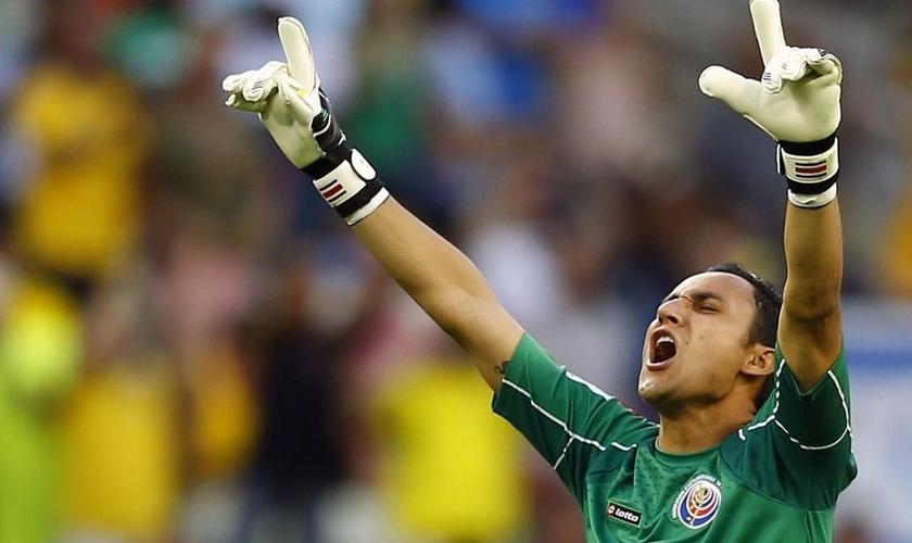 Keylor Navas, goleiro do Real Madrid. (Foto: ReadFootball)