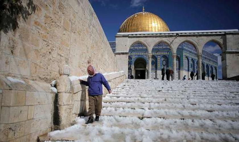 Cúpula da Rocha, local conhecido pelos judeus como o Monte do Templo. (Foto: Reuters)