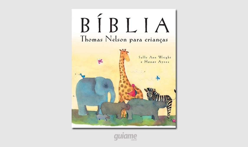 A obra da professora inglesa Sally Ann Wright reúne mais de 50 histórias bíblicas. (Foto: Divulgação).