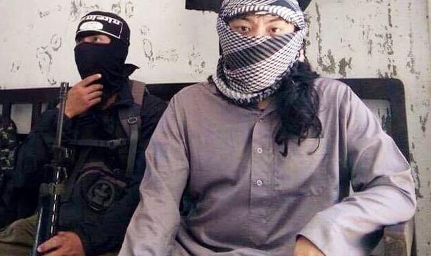 Os extremistas invadiram a cidade de Marawi no dia 23 de maio (Foto: Reprodução)